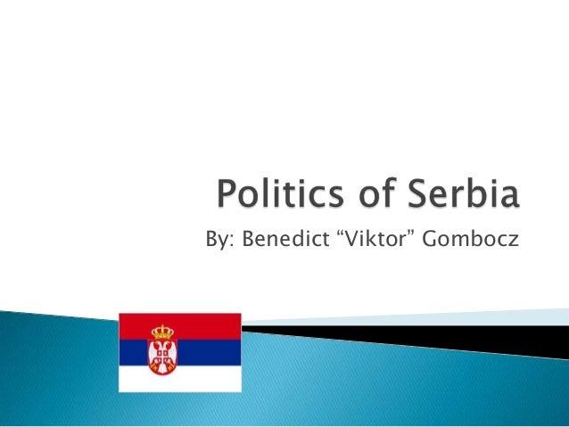 """By: Benedict """"Viktor"""" Gombocz"""