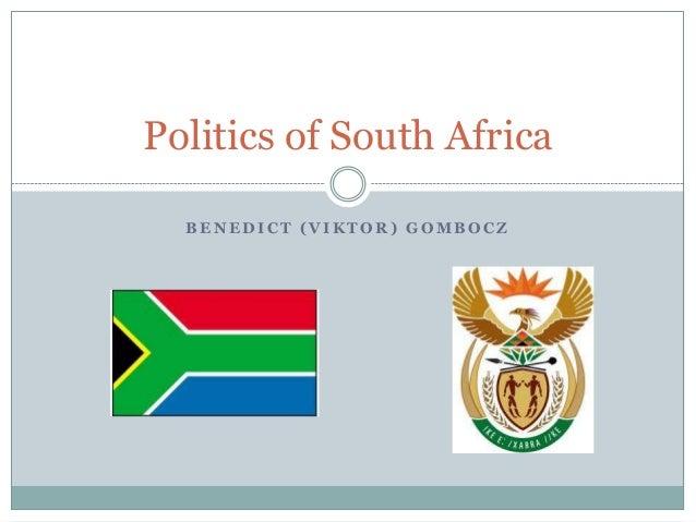 Politics of South Africa  BENEDICT (VIKTOR) GOMBOCZ