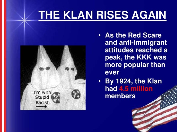 changing attitudes 1920 s america Major events of the 1920s,  jazz played a major role in the 1920's jan 16, 1920  the kkk believed that america should be racially pure,.