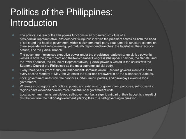 politics in the philippines introduction American political cartoons: an introduction the art of editorial cartoons & political caricatures  still, they approach both politics and show business.