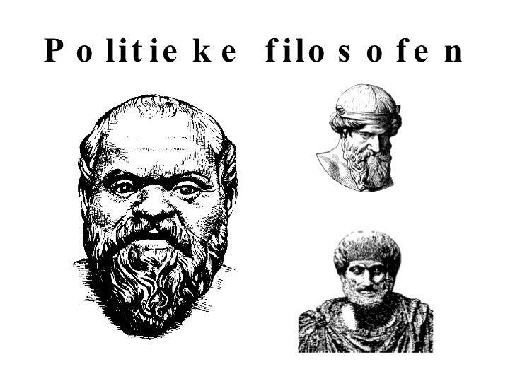 Politieke filosofen