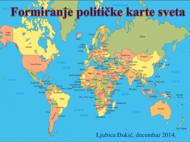geografska karta sveta Politička karta sveta lj đ geografska karta sveta