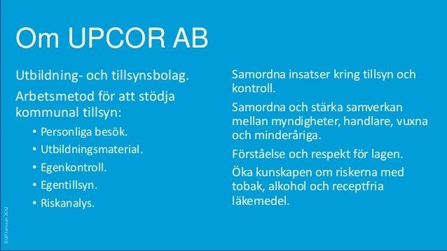 Politikerutbildning tobaksfrågor i Värmland 2012_nov Slide 2