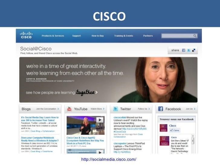 CISCO http://socialmedia.cisco.com/