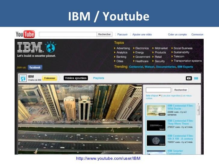 IBM / Youtube http://www.youtube.com/user/IBM