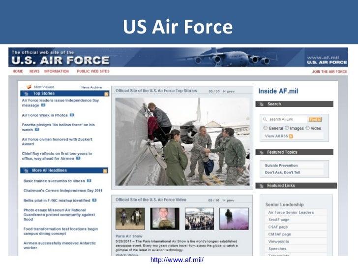 US Air Force http://www.af.mil/