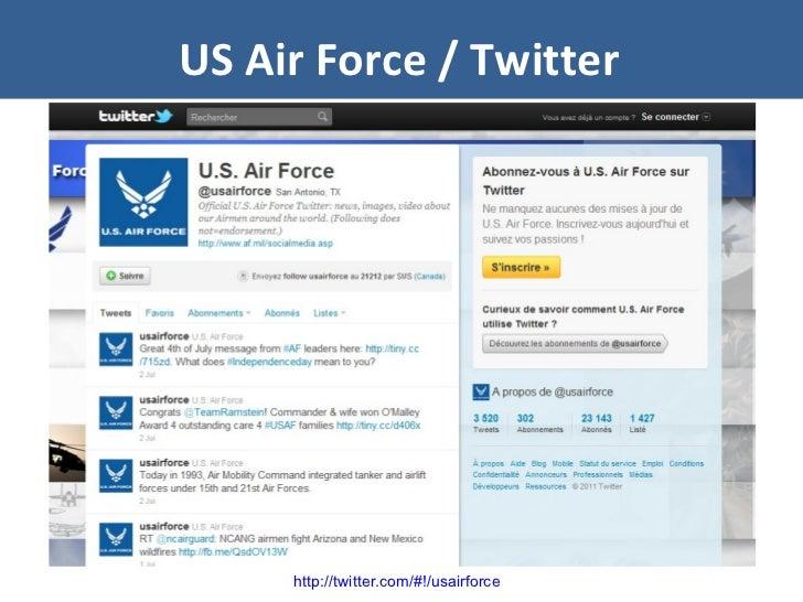 US Air Force / Twitter http://twitter.com/#!/usairforce