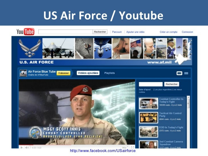 US Air Force / Youtube http://www.facebook.com/USairforce