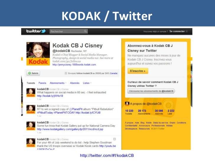 KODAK / Twitter http://twitter.com/#!/kodakCB