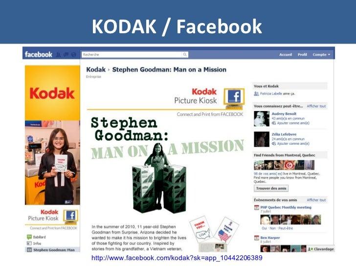 KODAK / Facebook http://www.facebook.com/kodak?sk=app_10442206389
