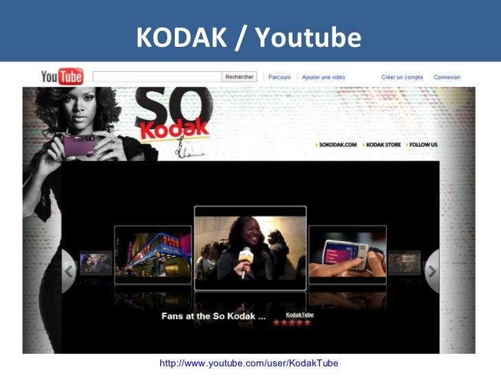 KODAK / Youtube http://www.youtube.com/user/KodakTube
