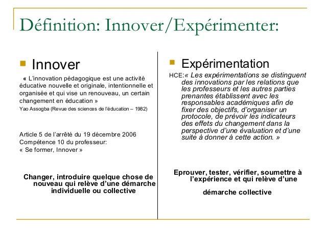 Politique d'innovation et experimentation - Académie de grenoble Slide 3