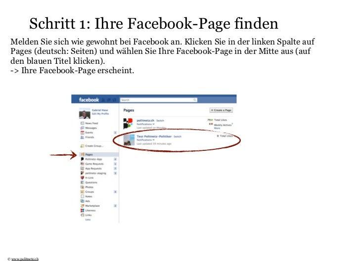 Politnetz-Aktivität auf Facebook Page Slide 2