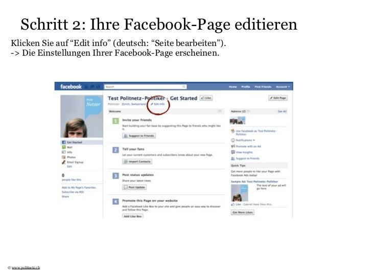 Politnetz-Aktivität auf Facebook Page Slide 3