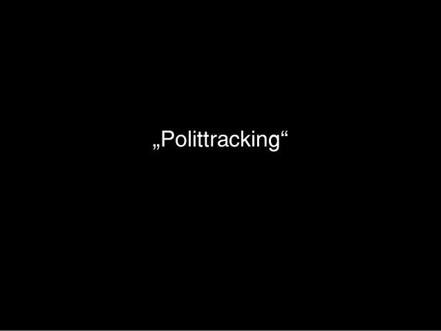 """Polittracking"""