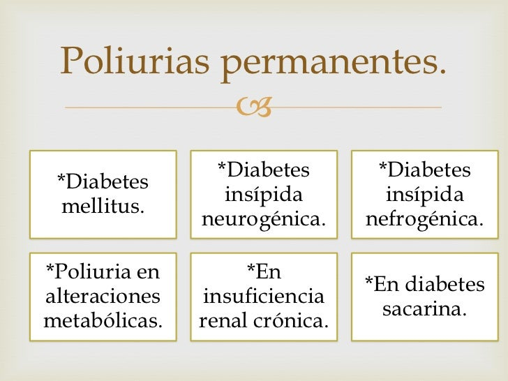 Poliuria e hirsutismo