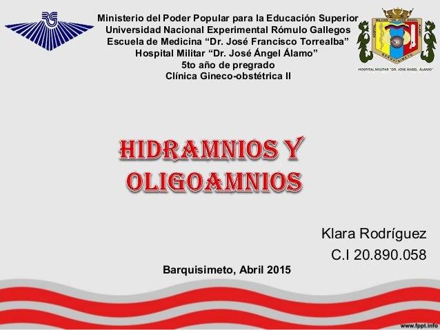Ministerio del Poder Popular para la Educación Superior Universidad Nacional Experimental Rómulo Gallegos Escuela de Medic...