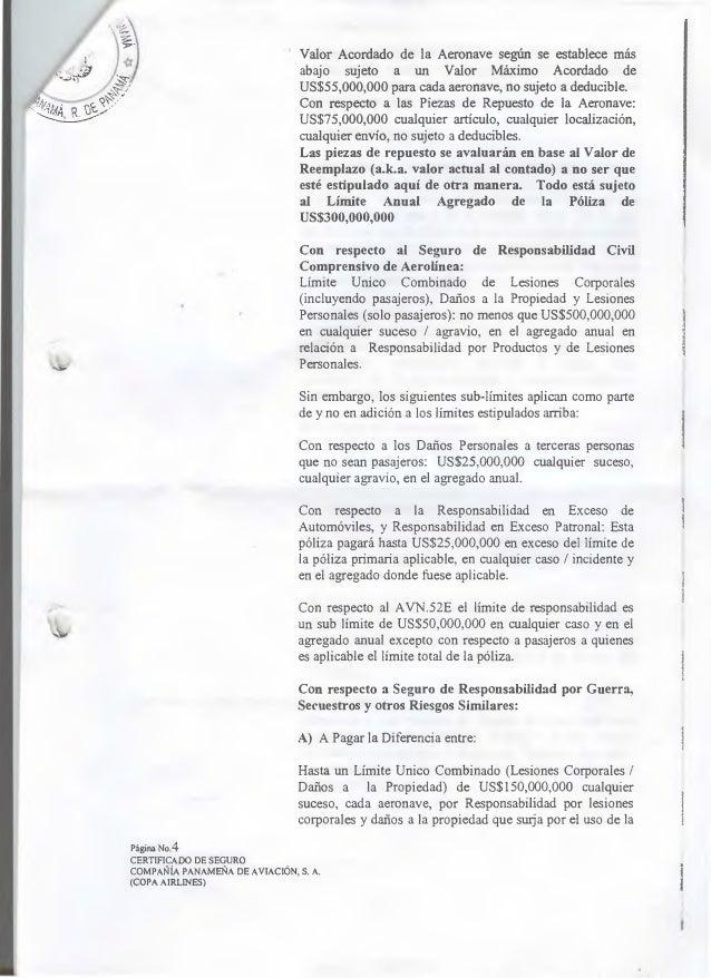 i(  Valor Acordado de la Aeronave según se establece más abajo sujeto a un Valor Máximo Acordado de US$55,000,000 para cad...