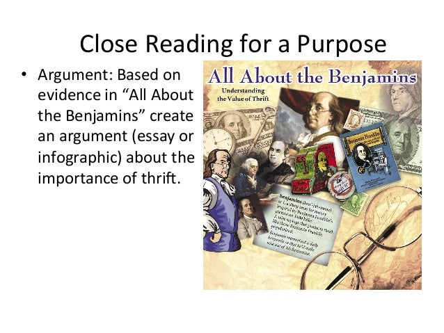 closing reading and argument