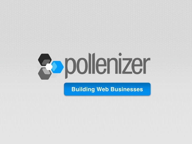 Building Web Businesses