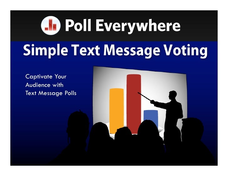 Captivate Your Audience with Text Message Polls