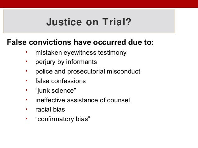 examples of prosecutorial misconduct