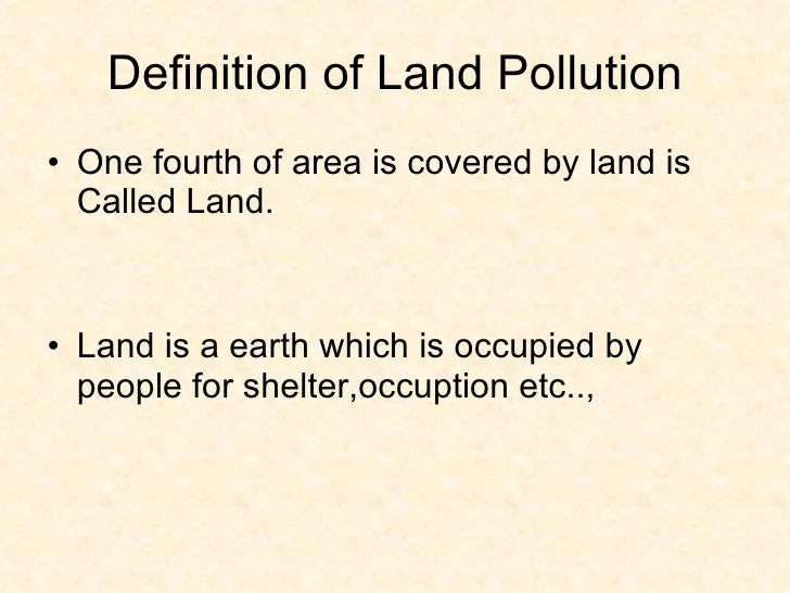 land pollution for kids - photo #26