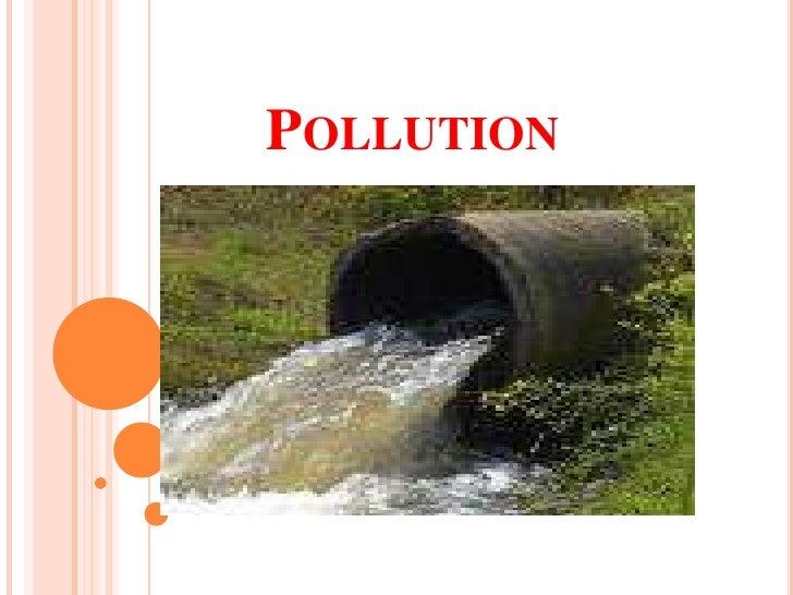 Pollution<br />
