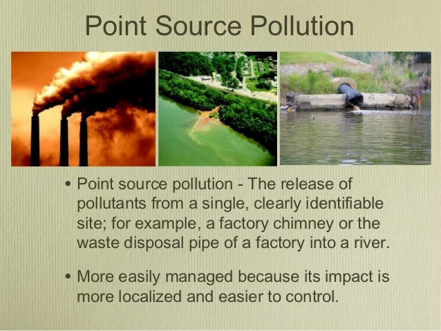 Non-point pollution