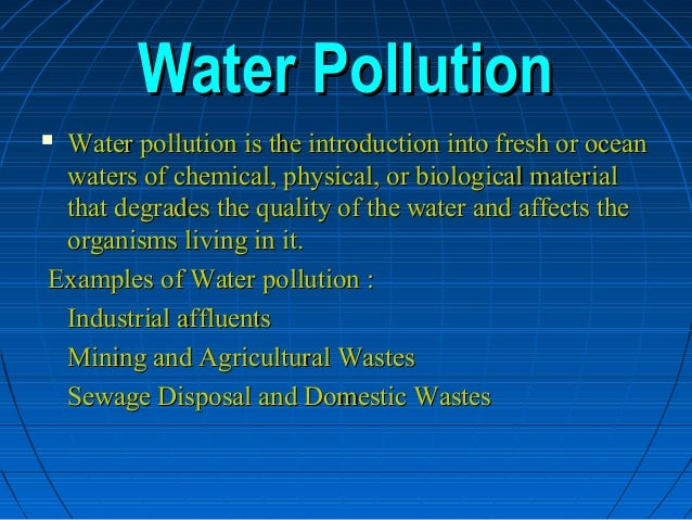 short essay on water pollution Many rivers receive water from springs and groundwater, particularly during lean stages of their flow the primary source of major ions to spring and ground waters is chemical weathering of aquifer rocks the importance of springs/groundwater on the abundances of major ions in rivers, though is.