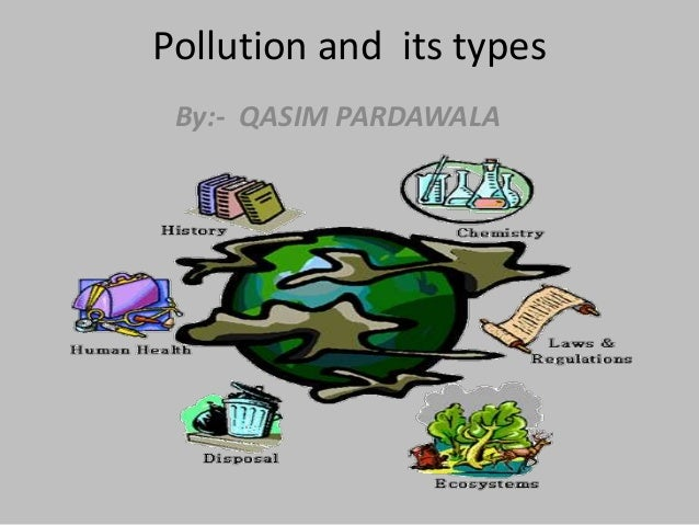 Pollution and its types By:- QASIM PARDAWALA