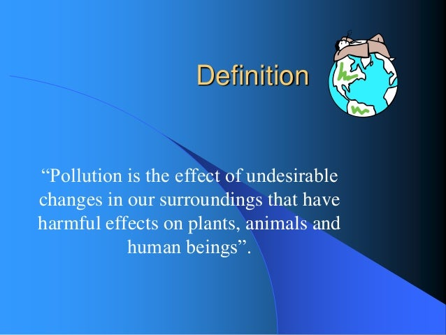 essay about air pollution cause and effect