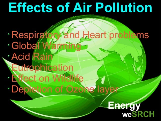 Image result for EFFECT OF AIR POLLUTION
