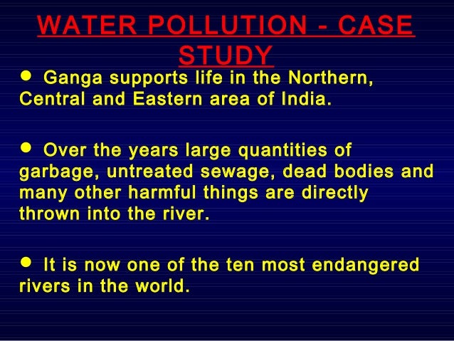 Case Study on Ganga River - YouTube