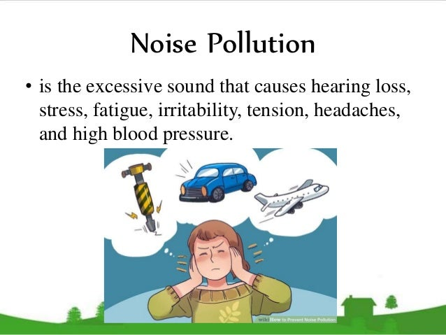 reaction about noise pollution The impact of noise pollution: a socio-technological introduction explores the areas that contribute to the generation of noise in the environment also covered are the different aspects of human life that is being affected by daily exposure to noise.