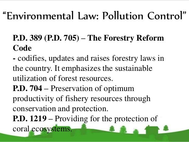 philippine environmental law essay Essay/term paper: environmental law- enforcement measures and effectiveness in essay, term paper, research paper: law see all college papers and term papers on law free essays available online are good but they will not follow the guidelines of your particular writing assignment.