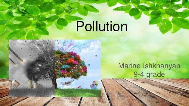 Pollution Marine Ishkhanyan 9-4 grade