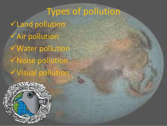 Pollution science school project