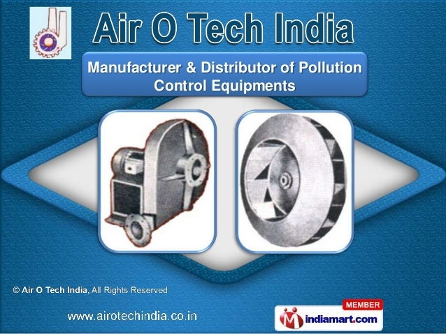 Manufacturer & Distributor of Pollution        Control Equipments