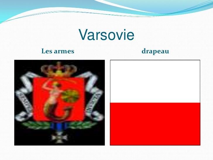 VarsovieLes armes              drapeau