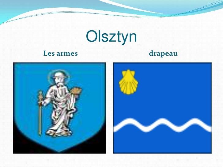 OlsztynLes armes             drapeau