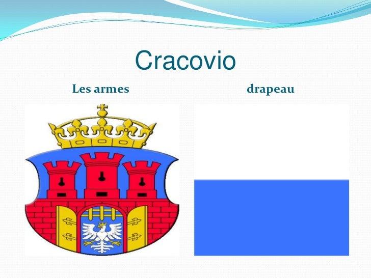 CracovioLes armes              drapeau