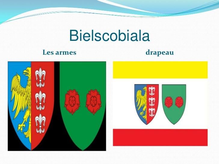BielscobialaLes armes         drapeau