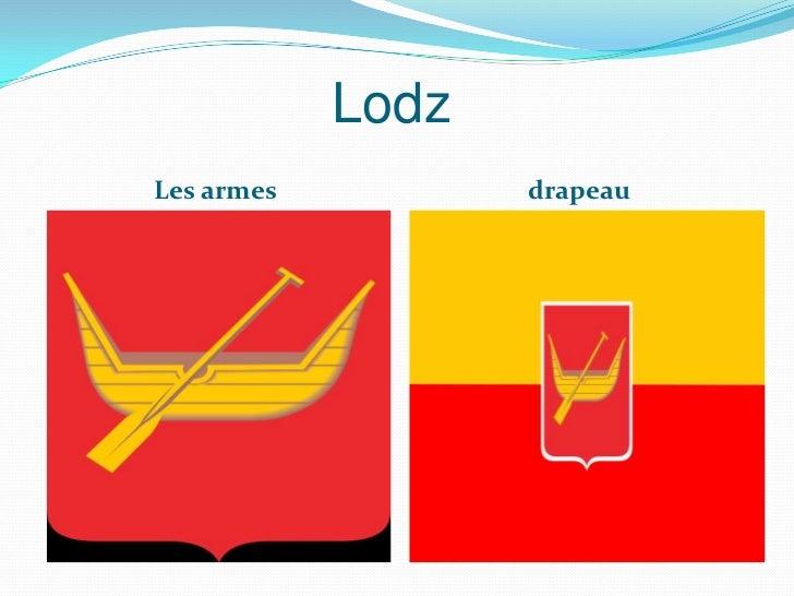 LodzLes armes          drapeau