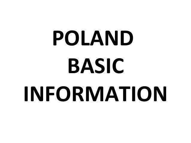 POLAND BASIC INFORMATION
