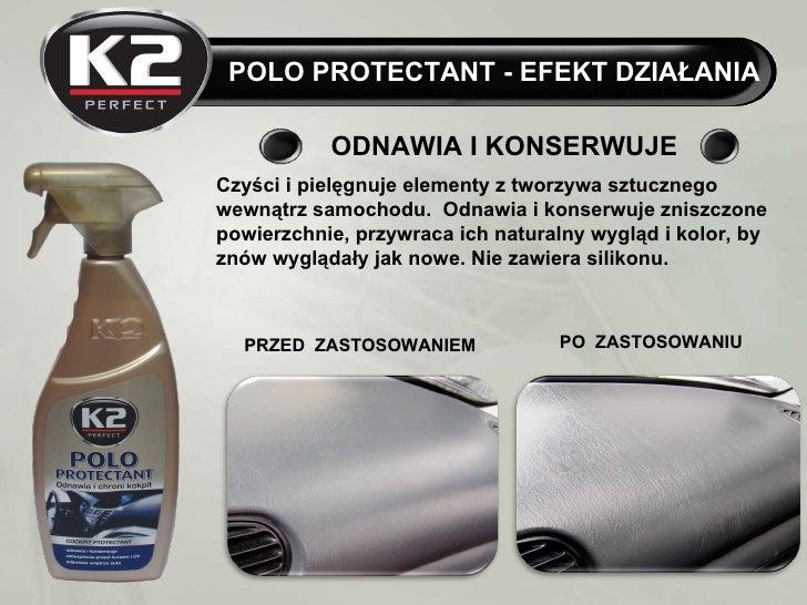 K2 Polo Protectant 700 ml - konserwuje deskę rozdzielczą Slide 2