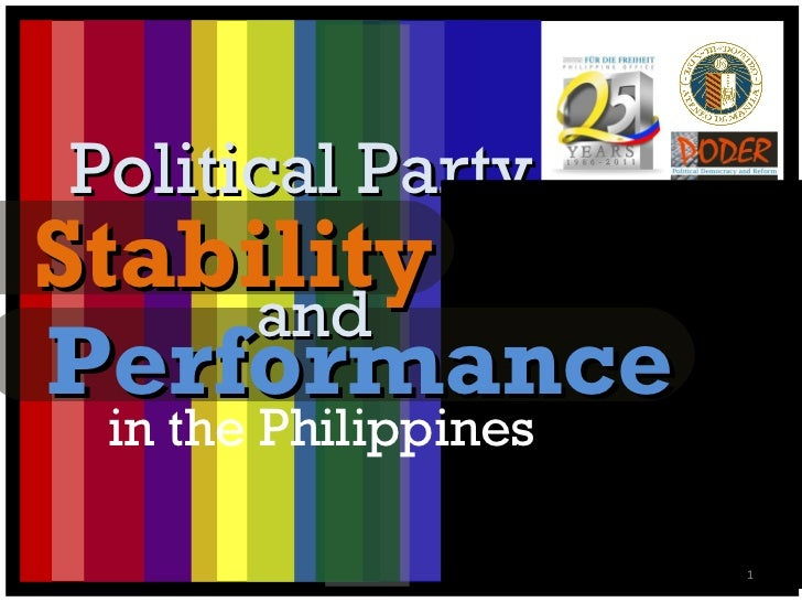 Political Party Performance in the Philippines Stability and