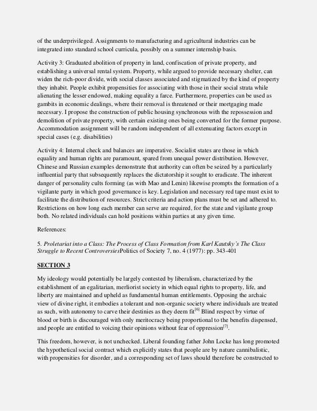 political science essay
