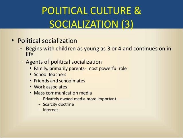 Essay on political socialization