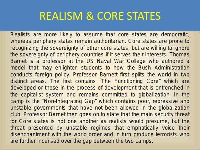 realist and liberalist perspectives of globalization essay Essay globalization is rooted in neo-liberalism and liberalism - a closer look at the changes in the patterns of development in the contemporary globalized world denotes that globalization.
